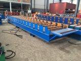La maquinaria del material de construcción del precio de fábrica de China de una sola capa lamina el rodillo del material para techos del metal que forma la máquina