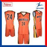 Спортивная одежда Healong дешевые спецодежды для команды man баскетбол футболках NIKEID