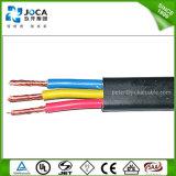 Cables sumergibles de la bomba del conductor de cobre plano