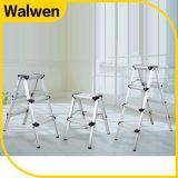Prijs 6 van de fabriek Stap die de Ladder van de Stap van Alumium van het Huishouden vouwen