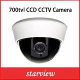 caméra de sécurité en plastique de télévision en circuit fermé de dôme du CCD IR de 700tvl Sony 960h