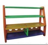 子供の家具の就学前の子供のプラスチック収納キャビネット