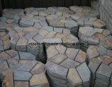 舗装のための自然な石造りのFlagstoneのスレート