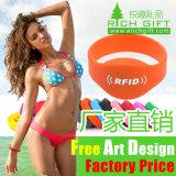 Usine directement à la vente de l'Europe de haute qualité sérigraphie Bracelet en silicone personnalisé