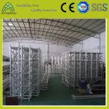 Dach-Binder-Entwurfs-Leistungs-Aluminiumstadiums-Quadrat DJ-Beleuchtung-Binder
