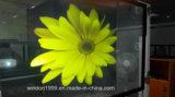 Película traseira de Holograohic Projetcion/película autoadesiva do indicador