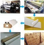 Venta caliente un solo lado de la etiqueta de revestimiento de papel sintético PP