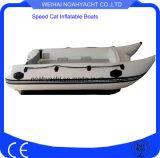 Equipar el yate externo del barco de la velocidad de la costilla de China del barco de pesca del motor