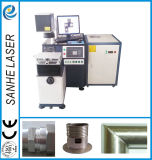 Fibra de alta eficiência máquina de soldar a Laser Scanner utilizado em metal