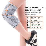 대나무 섬유 무릎 부목 포장 압축은 Powerlifting, 춤 및 달리기를 위한 /Knee 패드를 소매를 단다