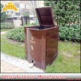 Fas-118 Caixote do lixo de metal no interior e exterior de Reciclagem de Lixo