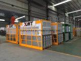 Elevatore dei materiali e del personale della gabbia del doppio della gru della gru di costruzione di ingegneria della costruzione del Ce con l'unità meccanica