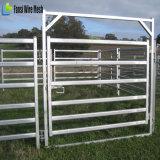 Comitato galvanizzato resistente delle iarde del bestiame del tubo d'acciaio con il cancello