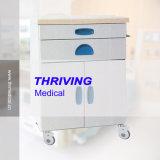 Thr-Zy110 de Medische Gekleurde Plaat van het Staal en het Superieure Plastic Kabinet van het Bed