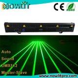 맨 위 DJ 디스코 단계 레이저 광선 빛을 이동하는 8개의 헤드