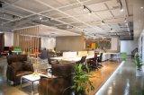 Oficina o el elegante vestíbulo o salón sofá de cuero () Sf-1062