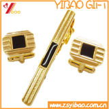 Mancuerna de encargo del oro de la insignia para el regalo de la promoción (YB-LY-TC-01)