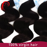 Уток волос объемной волны высокого качества 100% людской бразильский
