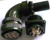 24-10 connecteur circulaire d'épreuve de pluie de couplage d'amorçage