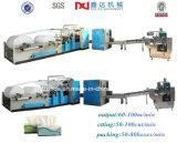 Completa del tejido facial automático de papel Línea de producción, embalaje facial de tejidos y la máquina de corte