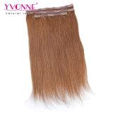 Clip nelle estensioni dei capelli umani per le donne bianche