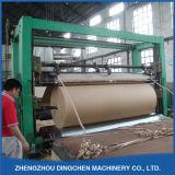 Machine de réutilisation de papier de carton de rebut pour le papier de tuyautage