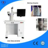 Машина маркировки лазера волокна печатание логоса лазера