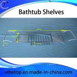 Chaud-Vente du chariot s'étendant de baignoire, étagère de crémaillère de baignoire
