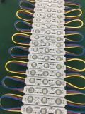 Module LED multicolore avec de la publicité Source de lumière 5050 3 puces de matériaux d'éclairage d'injection pour le canal des lettres