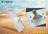 réverbère solaire extérieur Integrated de 110W DEL avec à télécommande
