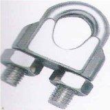 Précision moulant les clips en travers malléables en acier lourds de câble métallique