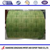 PPGI enduit de couleur des feuilles de toiture en carton ondulé