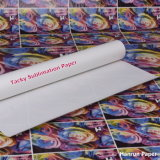 44 '', 100GSM sublimación rollo de papel / Heavy pegajoso / pegajoso de transferencia por sublimación rollo de papel para el deporte