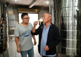 Wir passen Edelstahlbrew-Kessel-/Brewmaster Wannen-/Wein-Gärungserreger an