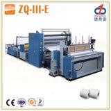 Zq-III-E la certificación CE el papel higiénico que hace la máquina