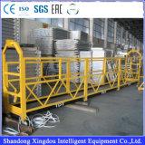 Plate-forme de suspension de l'aluminium Zlp630 ou de l'acier