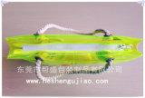 Sac à main en nylon nylon coloré en PVC avec poignée en coton pur (YJ-E018)