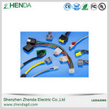 Chicote elétrico do fabricante produz o conjunto de cabos personalizados