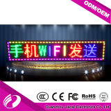 P10 siete muestra programable del mensaje del color LED