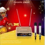 Kawii Portable Karaoke Player con Two Pieces Wireless Microphone
