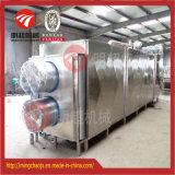 Dessiccateur automatique de tunnel de nourriture d'air chaud de matériel de séchage de courroie