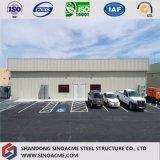 Taller prefabricado de la construcción de la estructura de acero con la certificación del Ce