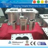 Plástico que compone barriles gemelos paralelos Co-Giratorios del tornillo