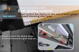 450 livres/machine à relier fonte d'heure de colle d'épine dorsale de livre de paquet d'épine de bord chaud parfait de Bookbone