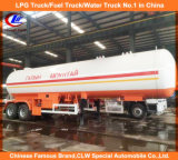 2 Eixo 40000L LPG Tank Trailer 20tons Liquid Gas Trailer 20t LPG Trailer de transporte para a Mongólia