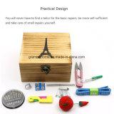 Preciosas artesanales de madera color Caja de almacenamiento para pequeños kits