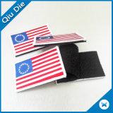 주문 깃발 3D에 의하여 수를 놓는 로고 목 의류 철 패치