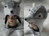 Le Beanie d'Anmimal/a tricoté le Beanie/chapeau tricoté/le chapeau/Beanie tricotés d'enfants