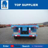 Axle 40FT корабля 3 титана 40 емкости контейнера тонн трейлера трейлеров планшетного