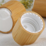 Capsule cosmétique avec le bambou